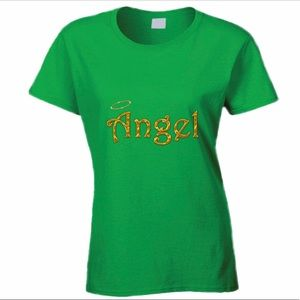 Green Angel Tee